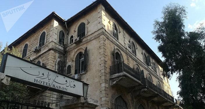 الأخبار  تنعي فندق  بارون  حلب.. والمشتري المجهول يكشفه صحفي سوري   اقتصاد مال و اعمال السوريين
