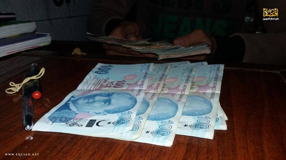 سعر صرف الليرة التركية مقابل الدولار   اقتصاد مال و اعمال السوريين